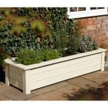 5'0 x 1'8 Devon Wooden Herb Planter by Grow-Plus (1.50x0.50m)
