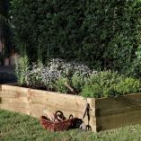 6' x 3' Pennine Wooden Raised Bed Planter by Grow-Plus (1.80x0.9m)