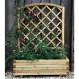 3'3 x 1'4 Grow-Plus Lyon Trellis Planter  (1.0x0.40m)