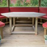 Hexagonal Gazebo Table