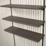 Set of Three Shelves 30x10""