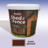 Shed and Fence Treatment (5L) - Dark Brown