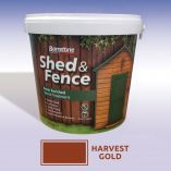 Shed and Fence Treatment Harvest Gold 5ltr