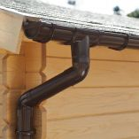 Rain Gutter for Gable Roof - 6000mm