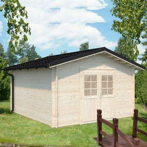 Palmako Tina 3.6 x 3.9m Log Cabin (34mm) 12'5 x 13'5