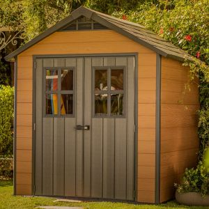 7'x 7' Keter Newton Plastic Garden Shed (2.29m x 2.23m)