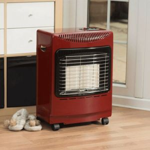 Lifestyle Mini Red Heatforce Summerhouse Portable Gas Heater