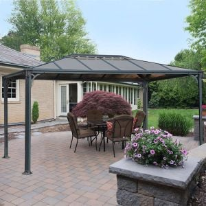 12' x 10' Palram Martinique 3600 Garden Gazebo