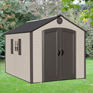 8x10 Lifetime Special Edition Heavy Duty Plastic Shed
