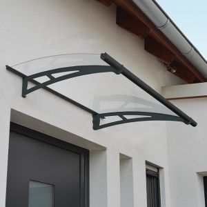 Palram Aquila 1500 Clear Large Door Canopy
