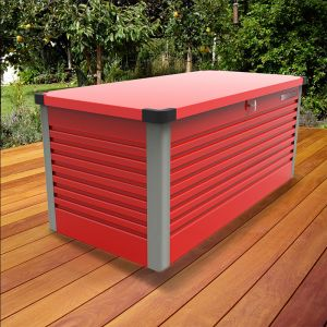6'x2'5 (1.8x0.75m) Trimetals Red Protect.a.Box