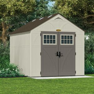 8' x 10' (2.43x3.11m) Suncast New Tremont Three Apex Roof Shed