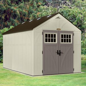 8' x 13' (2.43x4.03m) Suncast New Tremont Two Apex Roof Shed