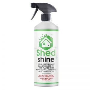 Shed Shine 500ml - Resin Plastic Cleaner