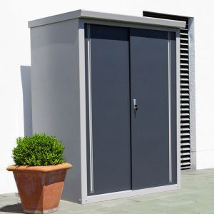 4'4 x 3'2 Trimetals Guardian D43 Metal Shed