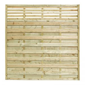 1.8m High Valencia Fence Panel