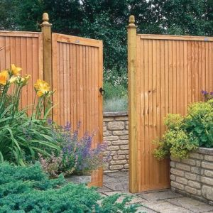 6ft High Closeboard Gate