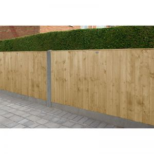 Forest 6' x 3' Pressure Treated Featheredge Fence Panel (1.83m x 0.93m)