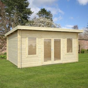 15'x11' (4.7 x 3.7m) Palmako Jodie 44mm Log Cabin