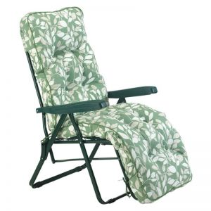Glendale Deluxe Cotswold Leaf Relaxer Garden Chair