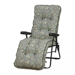 Glendale Deluxe Country Teal Relaxer Garden Chair