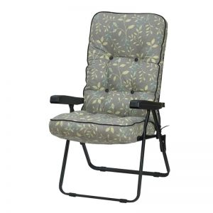 Glendale Deluxe Country Teal Recliner Garden Chair