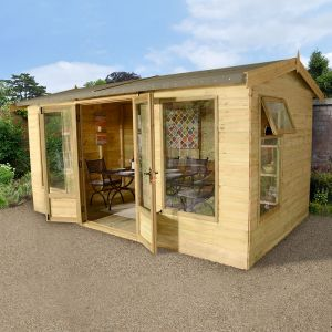 10' x 8' (3x2.4m) Champion Harvington Summerhouse