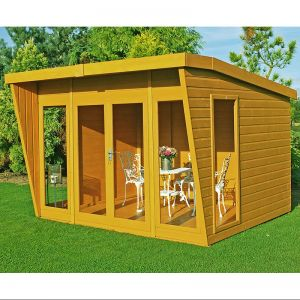 10'x8' (3x2.4m) Shire Highclere Summerhouse