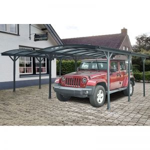 20' x 16' Kingston Curved Double Carport (5.9m x 5m)