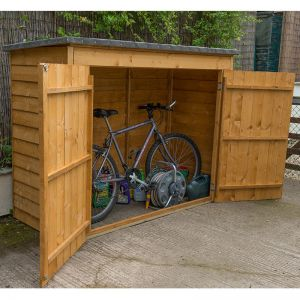 6x3 Dip Treated Bike Store