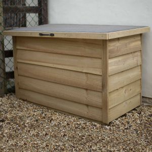 4x2 Pressure Treated Garden Storage Box