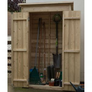 4x2 Pressure Treated Tall Pent Garden Store