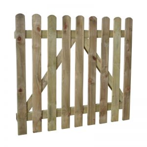 0.9 x 1.0m Heavy Duty Pressure Treated Pale Gate