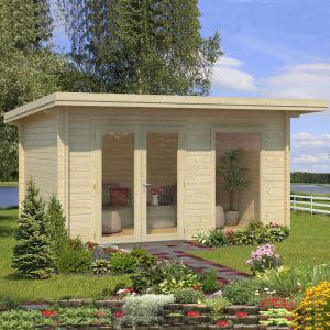 13'x10' (3.9x3m) Palmako Heidi 44mm Log Cabin