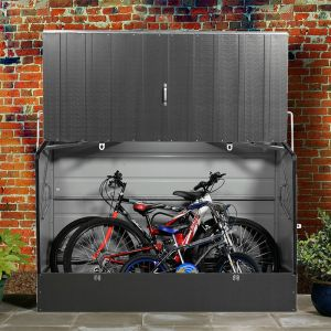 6'x3' (1.8x0.9m) Trimetals Anthracite Protect.a.Cycle