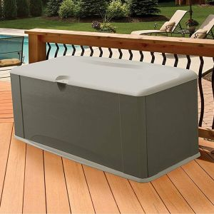 5' x 2' Rubbermaid XL Plastic Storage Deck Box (1.51m x 0.66m)