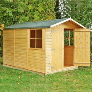 10x7 Shire Guernsey Double Door Shed