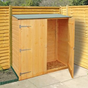 4' x 2' Shire Wooden Garden Storage Unit (1.19x0.59m)