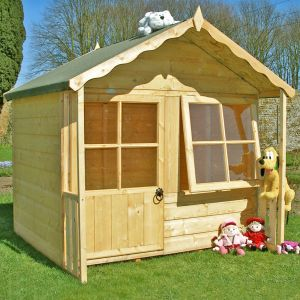 5' x 5' (1.49x1.49m) Shire Kitty Playhouse