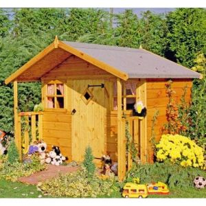 6' x 5'6 (1.79x1.68m) Shire Cubby Playhouse