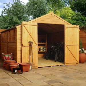 10' x 10' Windsor Overlap Modular Wooden Workshop Shed