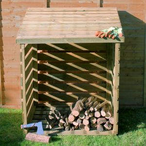 3' x 3' Windsor Wooden Single Log Store