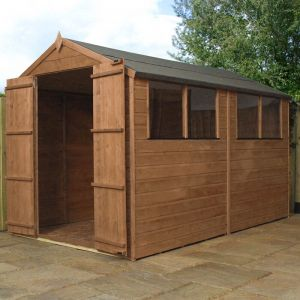 10' x 6' Windsor Norfolk Wooden Double Door Garden Shed