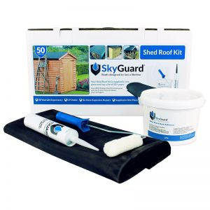 8'x6' SkyGuard EPDM Garden Building & Shed Roof Kit - Replacement Covering