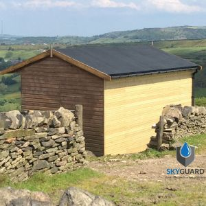 10'x20' SkyGuard EPDM Garden Building & Shed Roof Kit - Replacement Covering