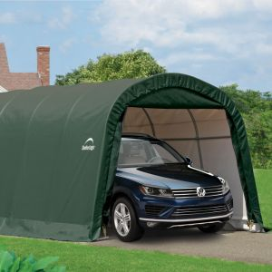 12x20 Rowlinson Round Top Auto Shelter