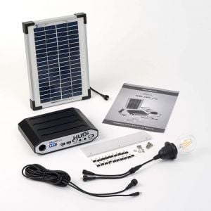 Solartech Premium Summerhouse And Garden Building Solar Lighting Kit 1