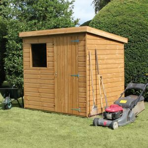 10' x 8' (3.05x2.44m) Traditional Standard Pent Shed
