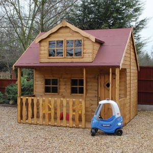 10' x 8' (3.05x2.43m) Traditional Swiss Cottage Playhouse