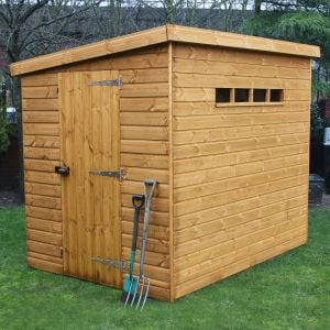 12' x 6' (3.66x1.83m) Traditional Pent Security Shed